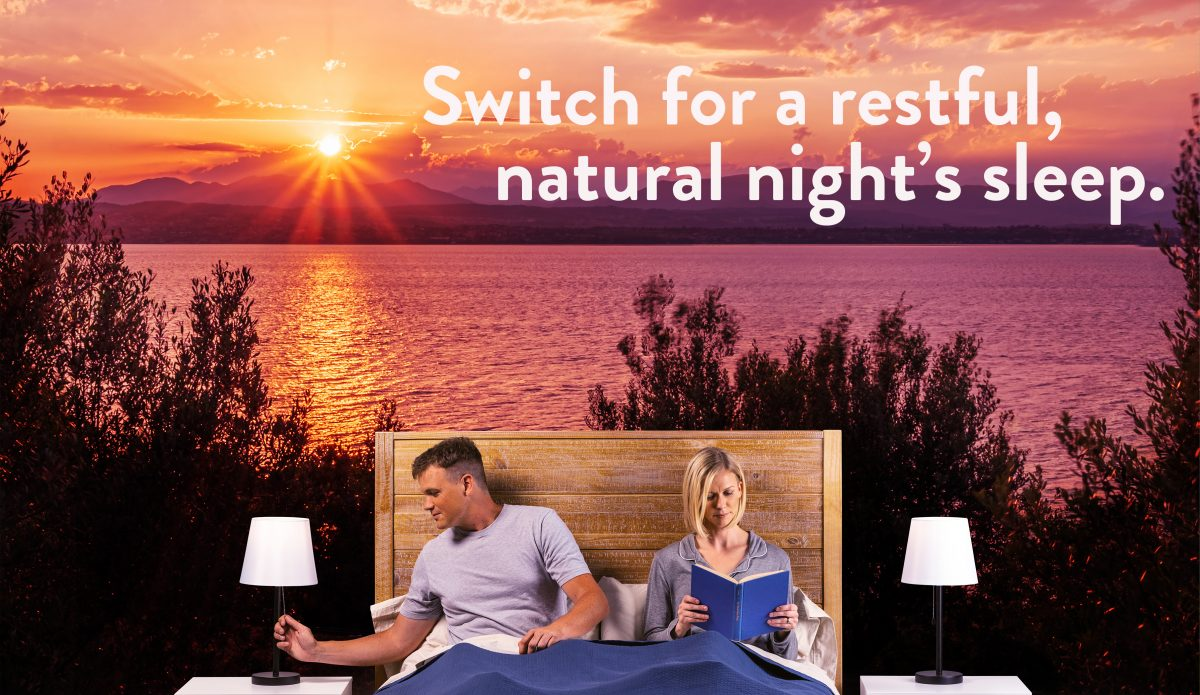 Switch to NorbSLEEP for a restful, natural night's sleep