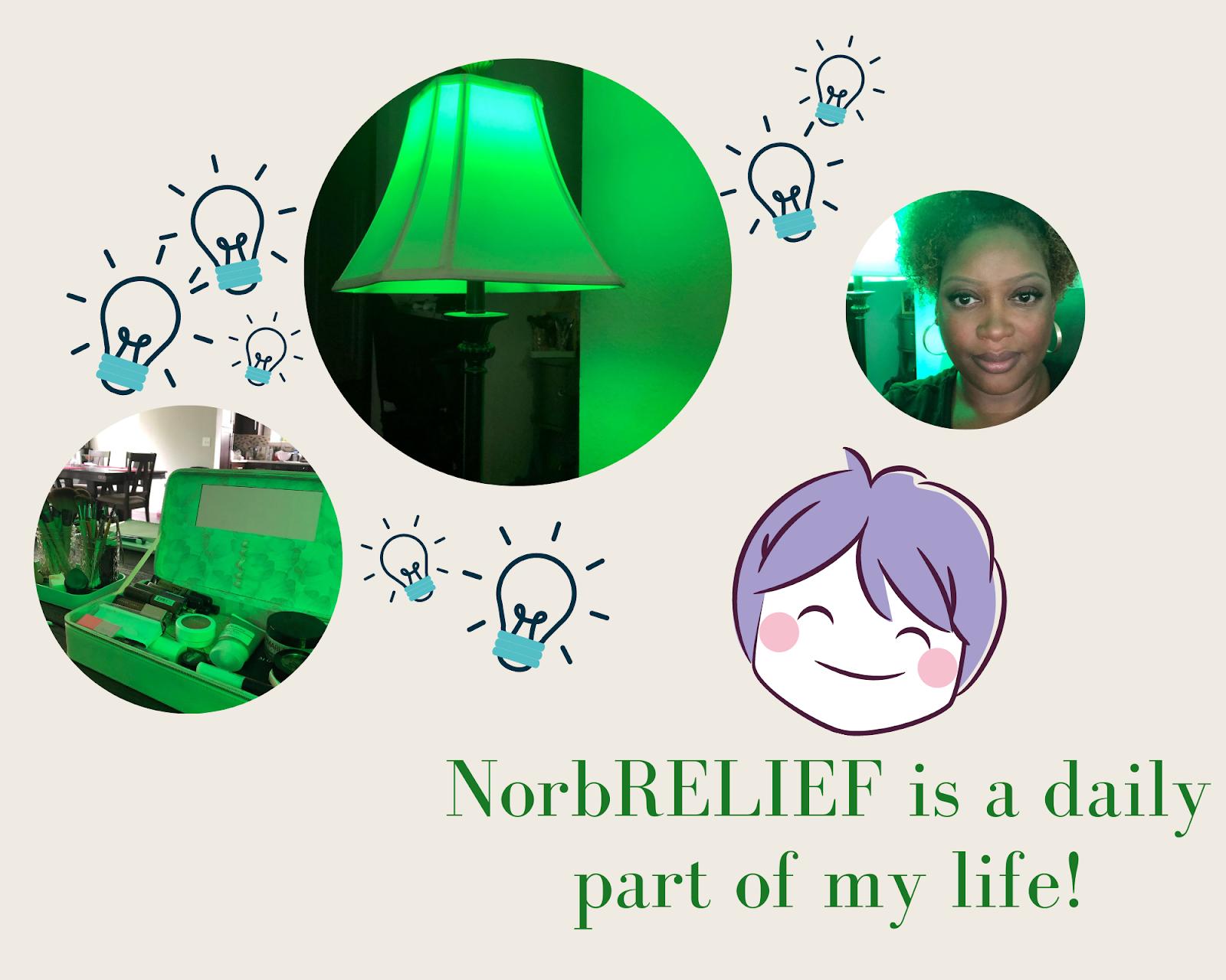 NorbRELIEF is a daily part of Jaime Sanders' life